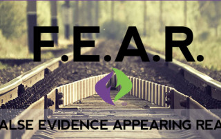 Fear Banner False Evidence Appearing Real Fit Freak