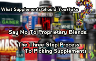 What Supplements Should You Take? The Three Step Process To Picking Supplements