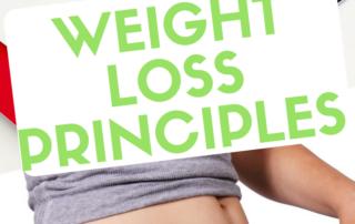weight loss principles